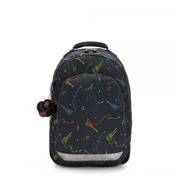 Black Friday 2020 - Kipling CLASS ROOM Large backpack with laptop protection Rock On