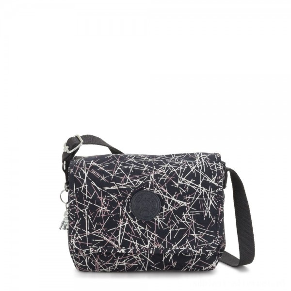 Black Friday 2020 - Kipling NITANY Medium Crossbody Bag Navy Stick Print