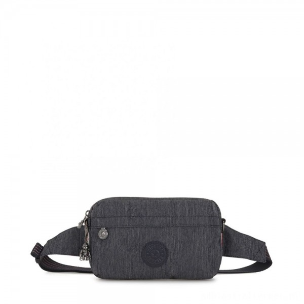 Black Friday 2020 - Kipling HALIMA Small 2-in-1 Waistbag and Crossbody Active Denim