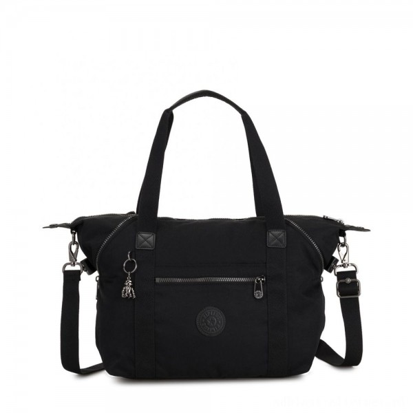 Black Friday 2020 - Kipling ART Handbag with Detachable Straps Rich Black
