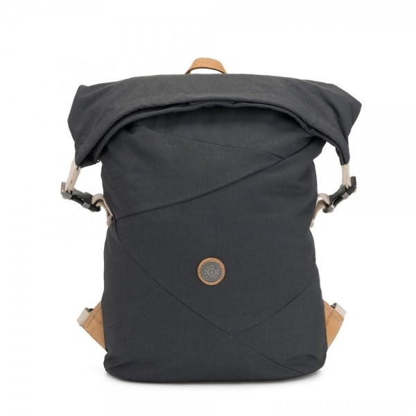 Black Friday 2020 - Kipling REDRO Large expandable backpack with laptop compartment Casual Grey