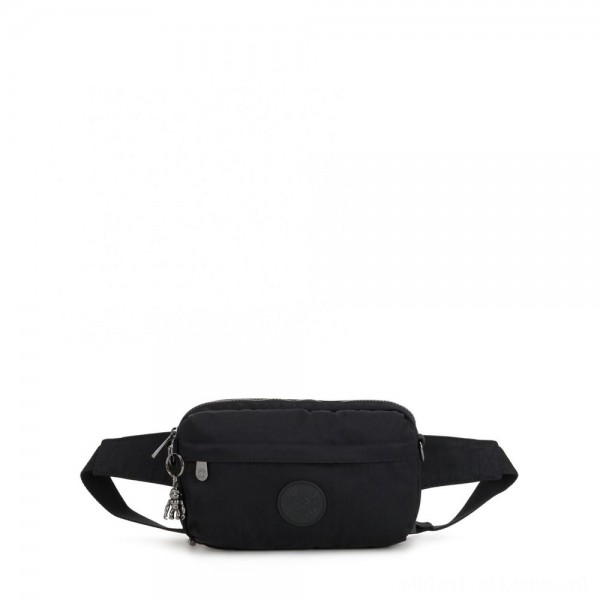 Black Friday 2020 - Kipling HALIMA Small 2-in-1 Waistbag and Crossbody Rich Black
