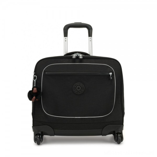 Black Friday 2020 - Kipling MANARY 4 Wheeled Bag with Laptop protection True Black